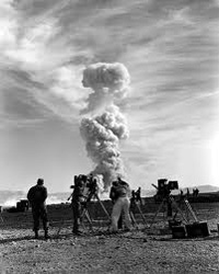 Photographing A-Bomb Test