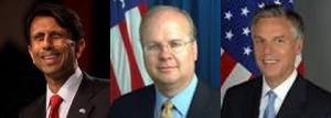 Jindar, Rowe, and Hunstsman of the GOP
