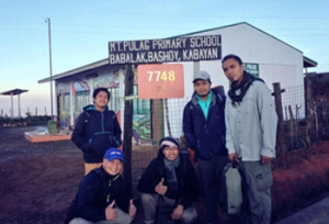 A New Classroom in Mt. Pulag