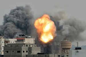 Gaza Strip War Zone