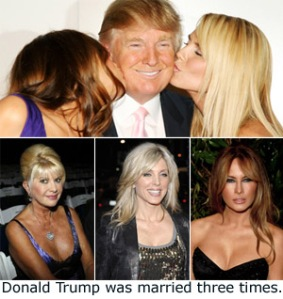 DonaldTrump&ThreeWives