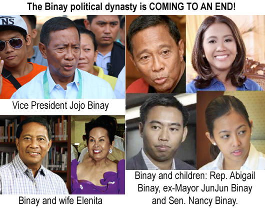 End of a political dynasty: unbridled government ...