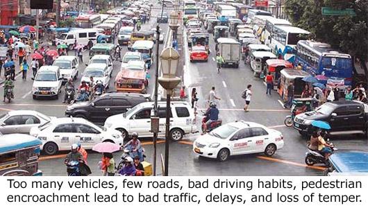 Too Many Vehicle Few Roads